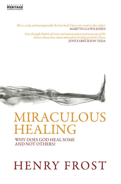 Miraculous HealingWhy does God heal some and not others?