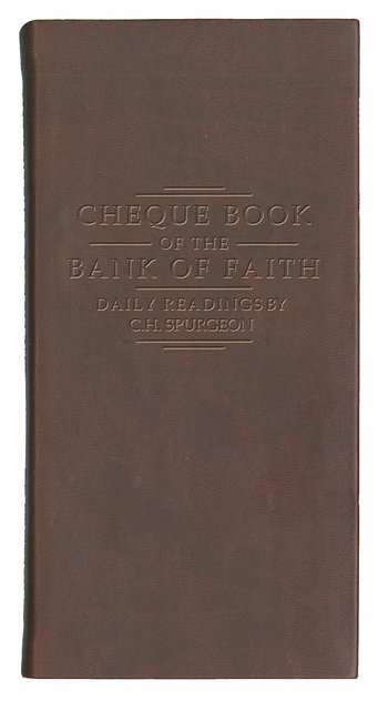 Chequebook of the Bank of Faith – Burgundy