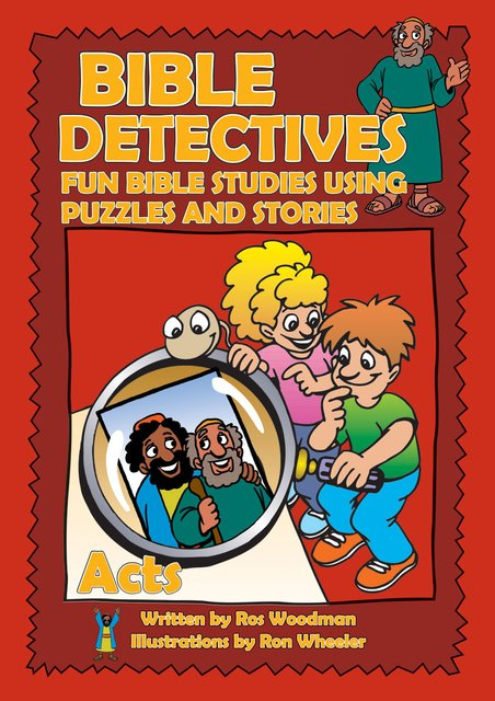 Bible Detectives ActsFun Bible studies using puzzles and stories