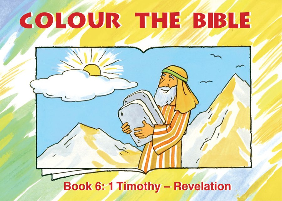 Colour the Bible Book 61 Timothy - Revelation
