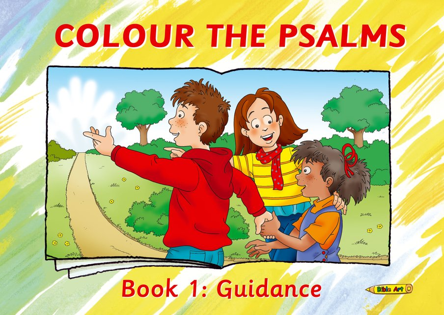 Colour the Psalms Book 1Guidance