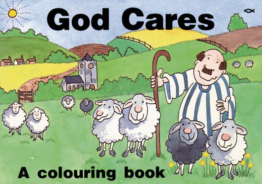 God CaresA colouring book