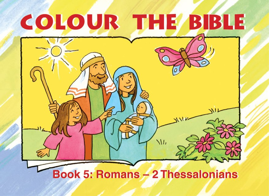 Colour the Bible Book 5Romans - Thessalonians